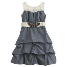 My Michelle Pick Up-Style Dress - Girls 7-16
