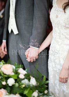 Holding Hands - Wedding Imagery by Poppy Fields Photography