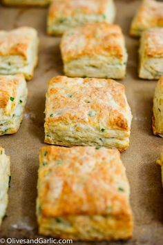 Savory Goat Cheese & Chive Biscuits foodwinethyme.com
