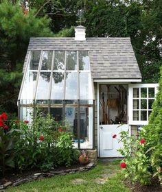 Garden shed and greenhouse - Likes