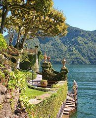 ***Italy Photos - Villa Balbianello Marina by Marilyn Dunlap