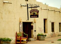 Vintage Wines, Mesilla, NM a great place to taste and experience local New Mexico wines