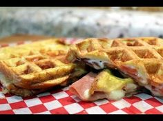 ▶ Pannini style How to make waffle iron sandwiches   Chef Cristian Feher on Daytime Show - YouTube