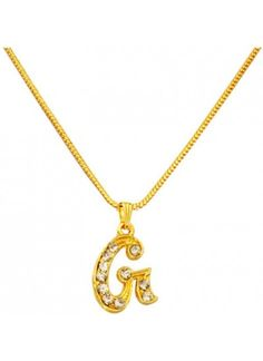 40d6e082e7384f Buy Designer   Fashionable Alphabet Pendant Withchain . We have a wide  range of traditional