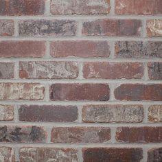 Brick Discover Old Mill Brick Castle Gate Thin Brick Singles - Flats (Box of - in. - The Home Depot Old Mill Brick Castle Gate Thin Brick Singles - Flats (Box of - in. - The Home Depot Brick Paneling, Brick Tiles, Faux Brick Backsplash, Kitchen Backsplash, Backsplash Ideas, Thin Brick Veneer, Brick Veneer Wall, Exterior Brick Veneer, Brick Siding