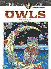 lataa / download CREATIVE HAVEN OWLS COLORING BOOK epub mobi fb2 pdf – E-kirjasto
