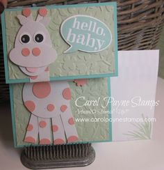 Stampin' Up! Little Sunshine Sophie! by Carol Payne - Cards and Paper Crafts at Splitcoaststampers