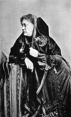 Madame Blavatsky: Mother of Modern Spirituality Wiccan, Magick, Helena Blavatsky, The Secret Doctrine, Theosophical Society, Christian Missionary, World Religions, Pilgrimage, Old Women