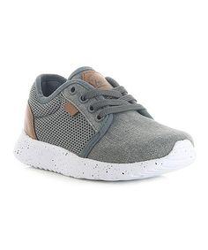 Look what I found on #zulily! Gray Tyler Sneaker #zulilyfinds