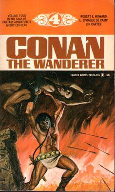 Conan the Wanderer - Robert E. Howard, L. Sprague De Camp, Lin Carter, cover by John Duillo
