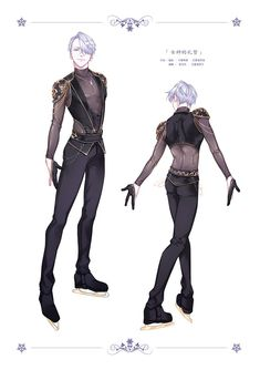 Shit I want this to be Victor's outfit when he makes his comeback on the next Skate Season.