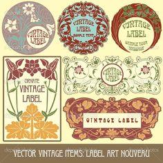 neuveau labels