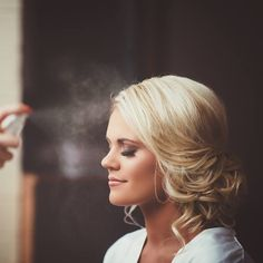"""""""Beautiful blonde updo. Makeup by: Kissable Complexions PC: Portraits by Andra #hairandmakeupbysteph"""""""