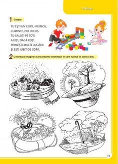 Caiet pentru vacanta - Clasa Pregatitoare Education, Comics, Children, Art, Boys, Kids, Comic Book, Big Kids, Kunst