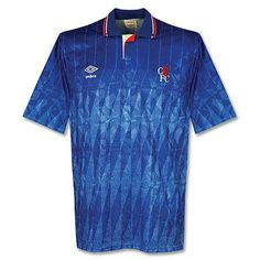 815d2ef87 89-91 Chelsea Home Shirt - Grade 8 - Subside Sports Chelsea Football