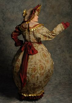 I love this, costume for Mrs. Teapot of Beauty and the Beast