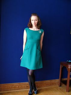 FO: Rooibos dress   Green apples