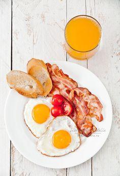 Traditional Breakfast by Natalia Lisovskaya