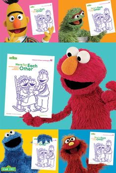 Your favorite Sesame Street characters (Bert, Oscar, Elmo, Cookie Monster, and Murray) encourage you to use our FREE emergencies toolkit. Help your little one understand the situation: http://www.sesamestreet.org/parents/topicsandactivities/toolkits/hurricane