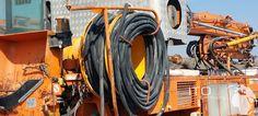 Anschluss Strom Kabel Beton Pumpe Cifa http://www.ito-germany.com/for-sale/ghh #Tunnelbaumaschine #TBM #Herrenknecht #Bagger #excavator #Excavadora #Heavyequipment #auctioneer #used #putzmeister #Schwing #tunnel