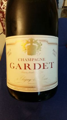 Champagne Gardet Brut Vintage 1990 | Vinifera-Mundi, News! Champagne, Wine, Bottle, News, Vintage, Drinking, Flask, Vintage Comics, Jars