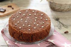 Torta+al+cioccolato+più+soffice+del+mondo,+senza+burro