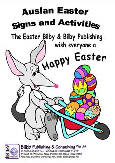 Easter Activity Pack Online Fun, Kids Online, Easter In London, Baby Sign Language Chart, Australian Sign Language, Easter Bilby, Easter Activities For Kids, Sign Image, Reception Class