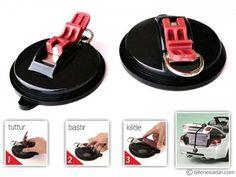 Ultra Güçlü Kilitli Çapa Vantuz: Suction Anchor Plus | Bitenekadar.com