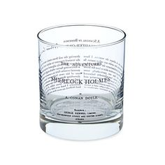 Look what I found at UncommonGoods: Literary Glass for $13.00