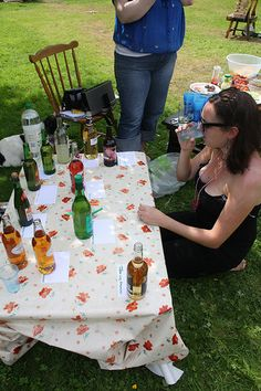 Hen Party Cider Festival. Have the guests bring a bottle of unusual cider & taste away!