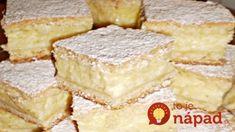 Falošný tvarohový koláčik, úžasne jemný: Tá náplň chutí naozaj ako tvaroh, ale netrotrebujete ani jediný gram!