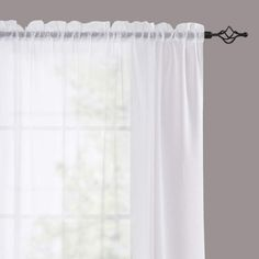 11 Best White Sheer Curtains - CountryCurtains Window Sheers, White Sheer Curtains, Voile Curtains, Sheer Curtain Panels, Curtain Rods, Interior Decorating, Interior Design, Soft Furnishings, Luxury Homes