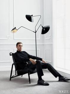 """""""I see a lot of amazing clothes, but I don't see a lot of emotion now,"""" says Raf Simons (here at Salon Dior in Paris), who hopes to bring back that element to fashion."""