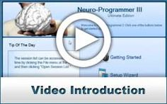 I use Neuroprogrammer to create your own personalized brainwave entrainment sessions. With your own durations, backgrounds, and visuals.