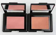 e.l.f. Tickled Pink and Candid Coral - My #2 & #1 favorite blushes