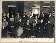 """The """"Chicago Club"""" including Mead, Dewey, Angell, and Moore. Pragmatism is sometimes called American Pragmatism because so many of its proponents were and are Americans."""