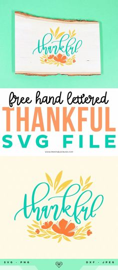 Free Thanksgiving SVG File - Thankful SVG File - Thankful Wood Sign - Printable Crush #printablecrush #freesvgfiles #svgfiles #thanksgiving #thanksgivinghomedecor #thanksgivingcrafts Diy Thanksgiving Crafts, Fall Crafts, Diy Crafts, Autumn Activities For Kids, Fun Projects, Project Ideas, Handmade Signs, Cricut Tutorials, Graphic Design Tutorials
