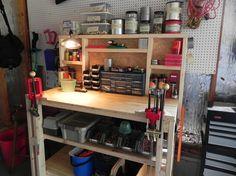 Let's See Your Reloading Bench - Page 6 Reloading Bench Plans, Reloading Room, War Belt, Gun Storage, Fire Powers, Man Room, 49er, Decoration, Liquor Cabinet