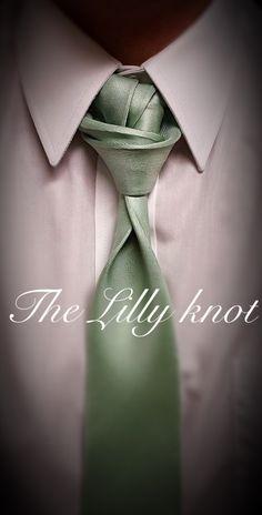 Knot by Boris Mocka Cool Tie Knots, Cool Ties, Fancy Tie, Suit Fashion, Mens Fashion, Celine, Tie A Necktie, Formal Tie, Suit Combinations