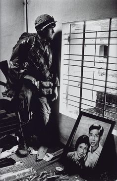 Don McCullin 'The Battle for the City of Hue South Vietnam US Marine Inside Civilian House' 1968 printed 2013 Vietnam History, Vietnam War Photos, Battle Of Hamburger Hill, Fotojournalismus, World Press Photo, Tate Britain, War Photography, Classic Photography, Stunning Photography