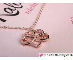 Halskette Unendliche Liebe Roségold | Liris Beautywelt Online-Shop