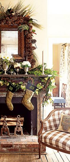 Rustic elegance fireplace /mantle