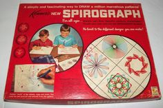 Vintage 1967 Original Kenner Toy ~SPIROGRAPH No. 401 - Make own design patterns #Kenner