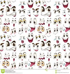 Resultat d'imatges de expresionesde caras
