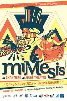 Festival Mimesis 2017 - Jordan Graphic La Rochelle France, Illustrations, Jordan, Graphic, Creations, Comic Books, Comics, Cover, Art