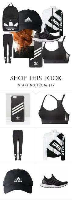 """adidas"" by annaandemilie ❤ liked on Polyvore featuring adidas, adidas Originals and Topshop"