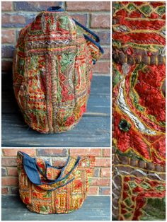 handmade shoulder bag from india $40 · purchase effect · online store powered by storenvy