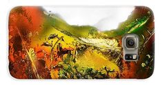 Golden Valley Galaxy S6 Case Printed with Fine Art spray painting image Golden Valley by Nandor Molnar (When you visit the Shop, change the orientation, background color and image size as you wish)