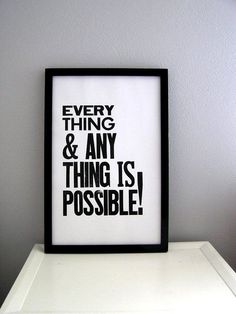 Inspirational And Motivational Quotes : QUOTATION – Image : Quotes Of the day – Description everything is possible Sharing is Caring – Don't forget to share this quote ! - #Motivational https://quotesdaily.net/motivational/inspirational-and-motivational-quotes-everything-is-possible-2/