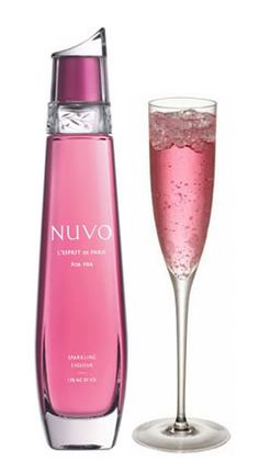 Nuvo Vodka ~ The World's First Sparkling Liqueur. L'esprit de Paris. Imported by London Group, LLC. Ultra-premium vodka from France.